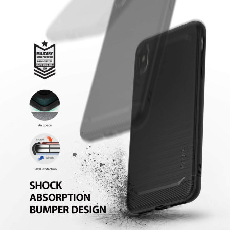 Ringke Onyx iPhone XS Max Tough Case - Black