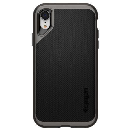 Spigen Neo Hybrid iPhone XR Case - Gunmetal