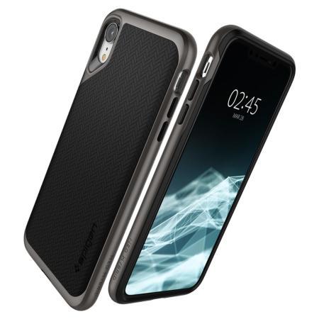finest selection 892ac e7852 Spigen Neo Hybrid iPhone XR Case - Gunmetal
