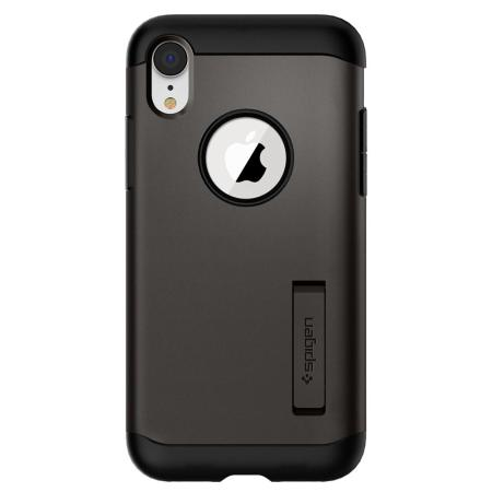 Spigen Slim Armor iPhone XR Tough Case - Gunmetal