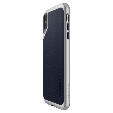 Funda iPhone XS Spigen Neo Hybrid - Gris