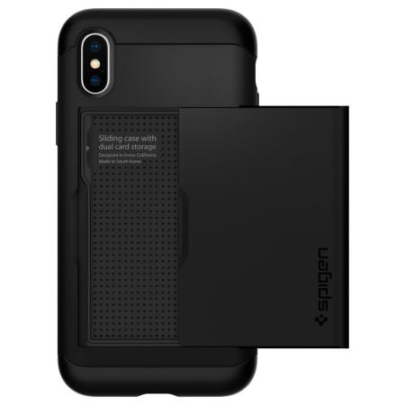 Spigen Slim Armor CS iPhone XS Case - Black