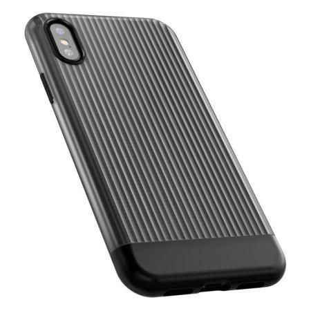 VRS Design Shine Coat iPhone XS Case - Black