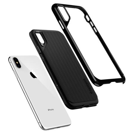 Spigen Neo Hybrid iPhone XS Max Case - Jet Black