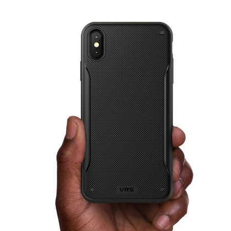 VRS Design High Pro Shield iPhone XS Max Case - Metal Black