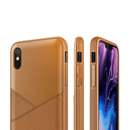 iphone xs case brown