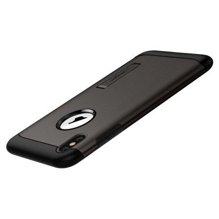 coque iphone xs max bequille spigen