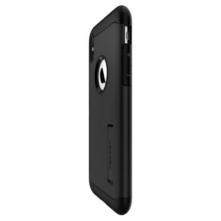 Funda iPhone XS Max Spigen Slim Armor - Negra