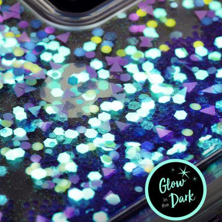 online retailer 1d22f 5844d Case-Mate iPhone XR Waterfall Glow Glitter Case - Purple Glow