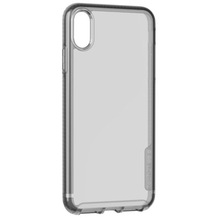 Funda iPhone XR Tech21 Pure Tint - carbono