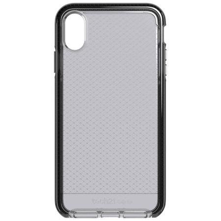 Tech21 Evo Check iPhone XR Case - Smokey / Black
