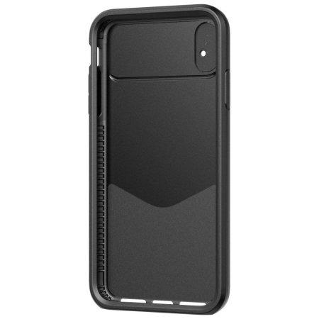 Funda iPhone XR Tech21 Evo Max con cobertura para la cámara - Negra