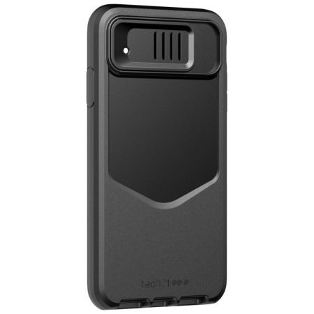 Tech21 Evo Max iPhone XS Tough Case With Camera Cover - Black