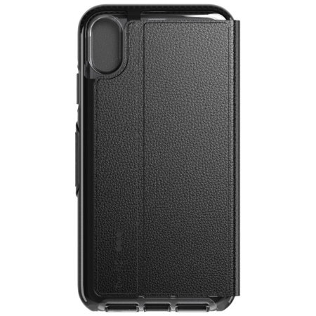 check out fca43 f23f3 Tech21 Evo iPhone XR Flex Shock Wallet Case - Black
