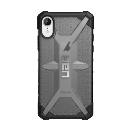 uag plasma iphone xr protective case - ash