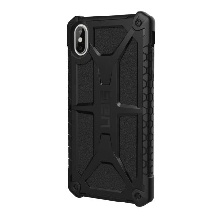 uag monarch premium iphone xs max protective case - black