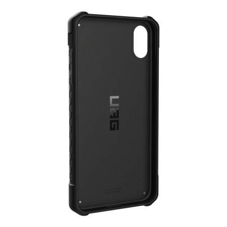 uag monarch premium iphone xs max protective case - carbon fibre