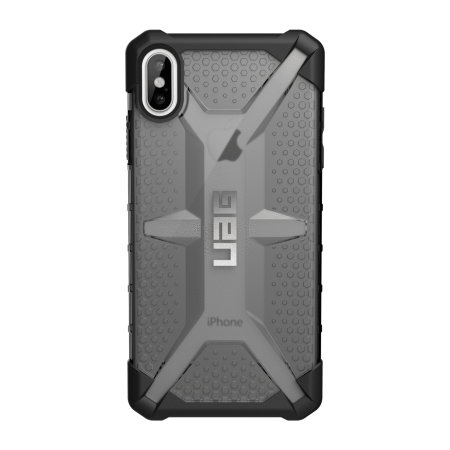 uag plasma iphone xs max protective case - ice