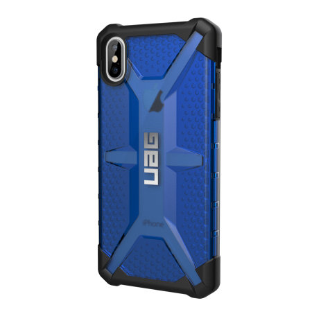 uag plasma iphone xs max protective case - cobalt