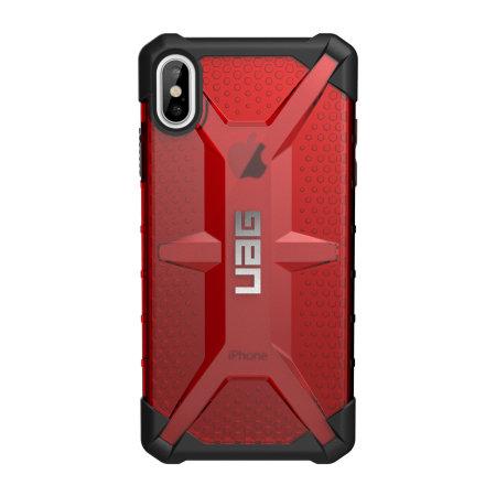 uag plasma iphone xs max protective case - magma