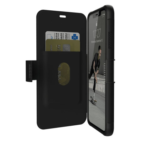 UAG Metropolis iPhone XS Max Rugged Wallet Case - Black