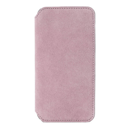 krusell broby 4 card iphone xs slim wallet case - pink