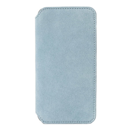 Krusell Broby 4 Card iPhone XS Slim Wallet Case - Blue