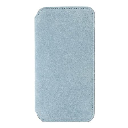 krusell broby 4 card iphone xr slim wallet case - blue