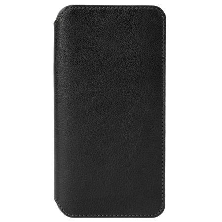 krusell pixbo 4 card iphone xr slim wallet case - black