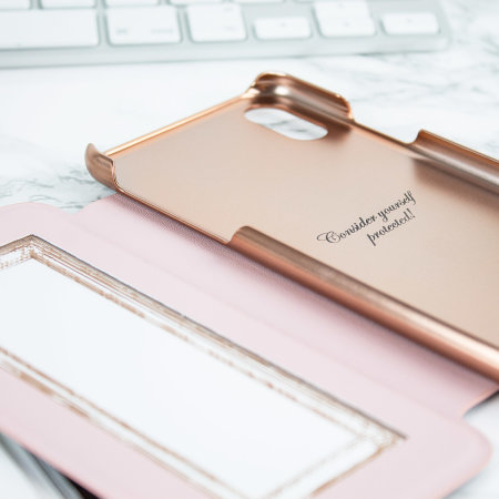 Ted Baker iPhone XS Mirror Folio Case - Arboretum