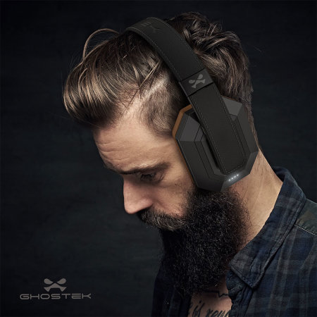 Ghostek SoDrop Pro Series Bluetooth Noise Reduction Headphones - Black