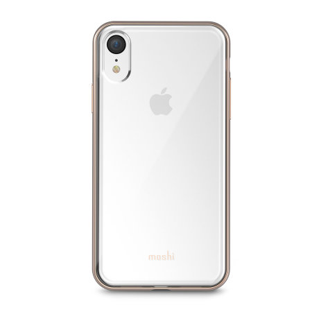 moshi vitros iphone xr slim case - champagne gold