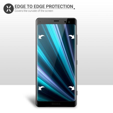 Protector de Pantalla Xperia XZ3 Olixar Protección Completa Cristal