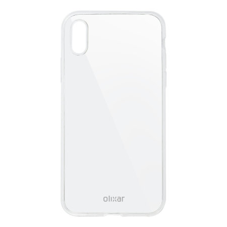 Olixar Ultra-Thin iPhone XS Case - Transparant