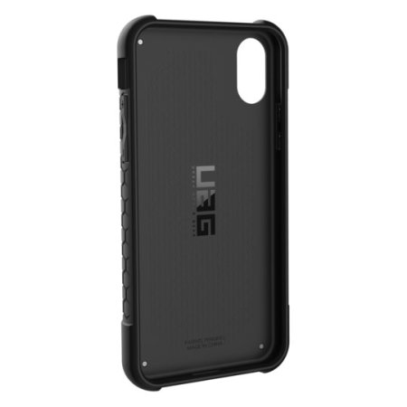 uag monarch premium iphone xs protective case - carbon fibre