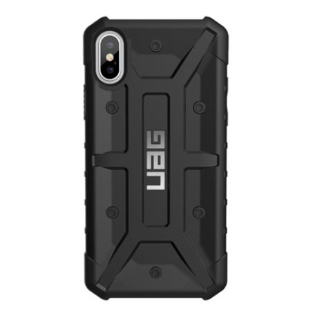 uag pathfinder iphone xs rugged case - black