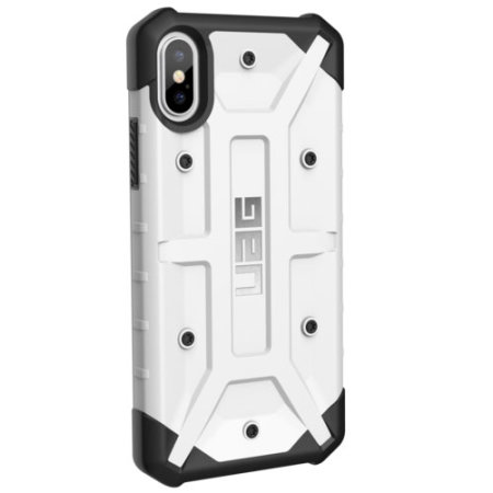 uag pathfinder iphone xs rugged case - white
