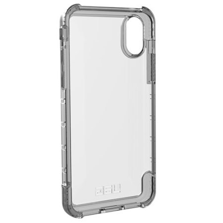 uag plyo iphone xs tough protective case - ash