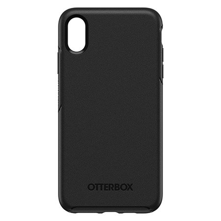 otterbox symmetry series iphone xs max tough case - black