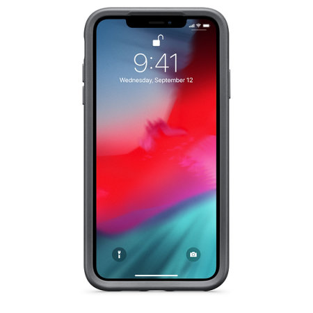 half off bb1a0 34e0d Otterbox Statement Series iPhone XS Max Case - Storm Grey / Clear