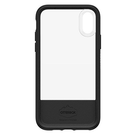 timeless design 6db1a 67877 Otterbox Statement Series iPhone XS Case - Black / Clear