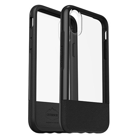 timeless design 3bf4c dcb18 Otterbox Statement Series iPhone XS Case - Black / Clear