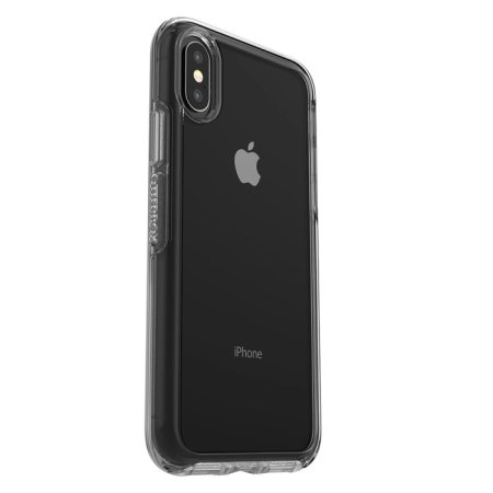 otterbox symmetry iphone xs case - clear