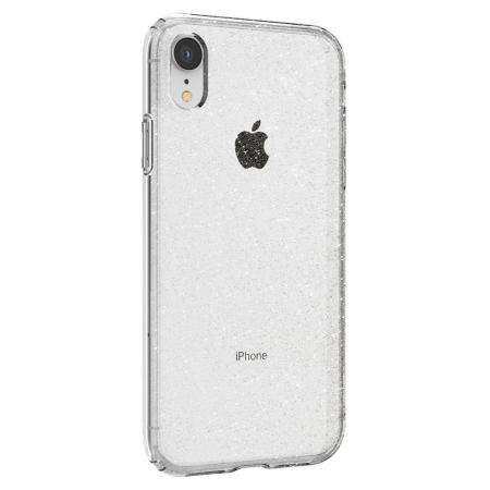 Spigen Liquid Crystal Glitter iPhone XR Shell Case - Crystal Quartz