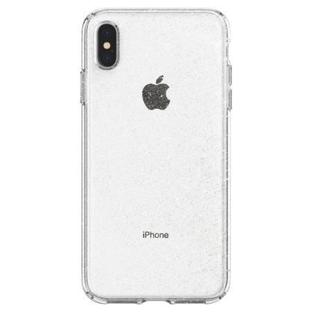 Funda iPhone XS Max Spigen Liquid Crystal Glitter - Cristal