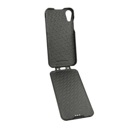 the latest 973af 3e723 Noreve Tradition iPhone XR Premium Leather Flip Case - Black