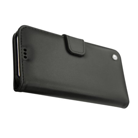Noreve Tradition B iPhone XS Leather Wallet Case - Black
