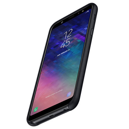 Official Samsung Galaxy A6 Plus 2018 Dual Layer Cover Case - Black