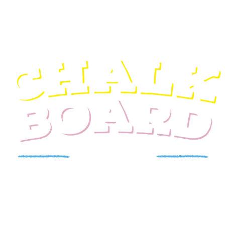 Echo Three Chalkboard Flex - Self Adhesive Vinyl