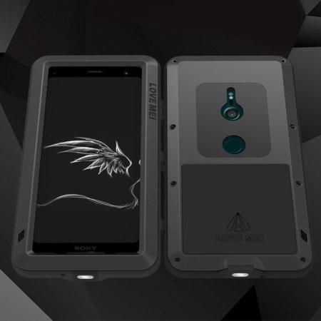 Love Mei Powerful Sony Xperia XZ3 Protective Case - Black